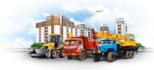 Услуги аренды строительной техники