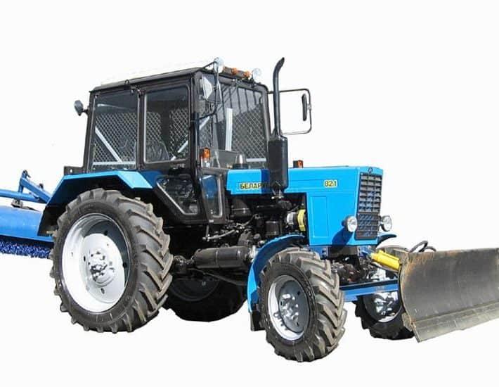 Аренда трактора в Москве и области