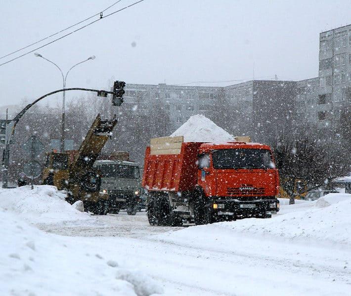 Услуга по комплексной уборке снега