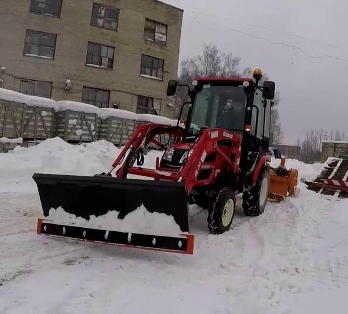 Минитехника для уборки снега