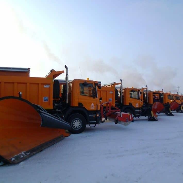 Техника для уборки снега на дорогах