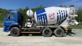 Автобетоносмеситель ТЗА 58149Z на шасси КАМАЗ 6520