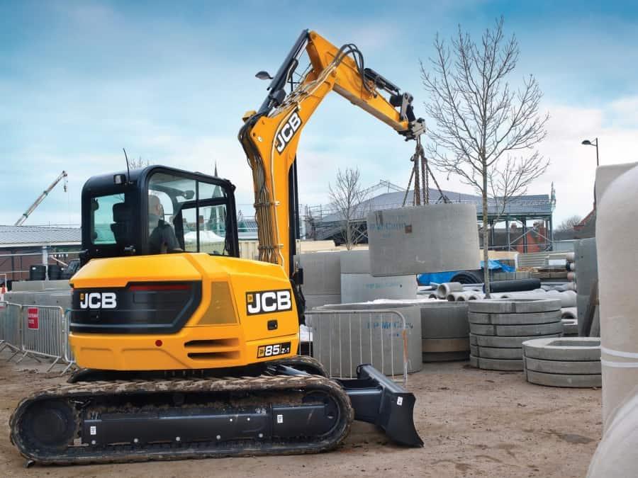 JCB JS 85 в аренду