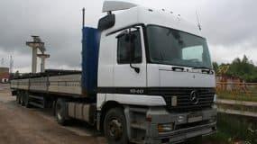 Mercedes - 13,6 метра в аренду