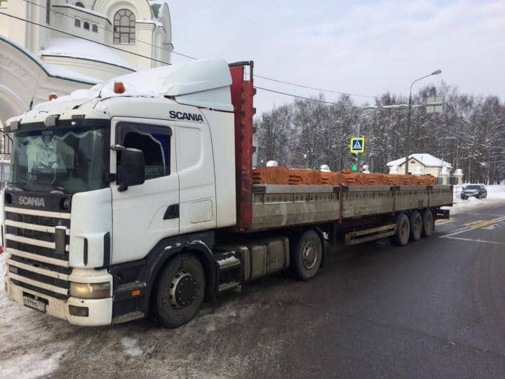 Scania 13.7 метра в аренду
