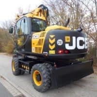 JCB JS145W в аренду
