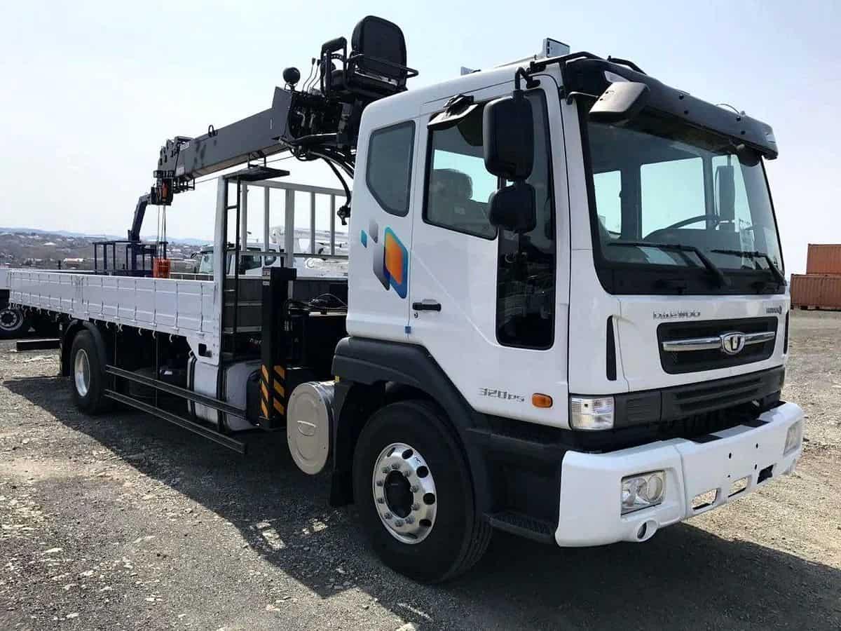 Daewoo (7 тонн) в аренду