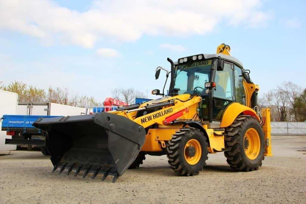 New Holland B110B в аренду
