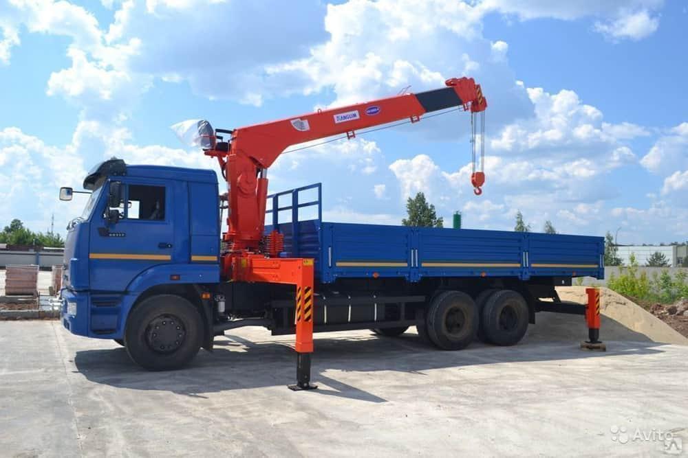 КАМАЗ (7 тонн) в аренду
