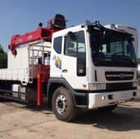 Daewoo (8 тонн) в аренду