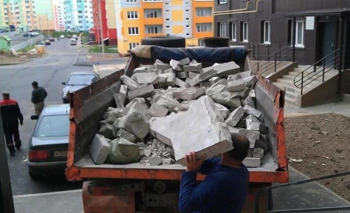 Вывести строительный мусор